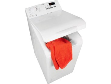 AEG Waschmaschine Toplader L6TB40460, 6 kg, 1400 U/min, ProSense - Mengenautomatik, Energieeffizienz: F