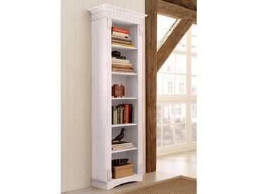 Standregal »Teresa«, Landhaus-Stil, FSC®-zertifiziert, Home affaire, weiß, Material Massivholz