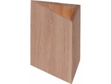 Wandleuchte »TREKANT«, FSC®-zertifiziert, beige, Material Holz, SPOT Light