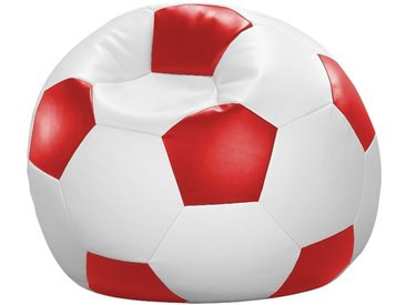 Home affaire  Sitz-Sack  »Fußball«, weiß, wasserabweisend