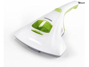 Handstaubsauger Milben-Handstaubsauger mit UV-C-Licht weiß/limegreen, weiß, CLEANmaxx
