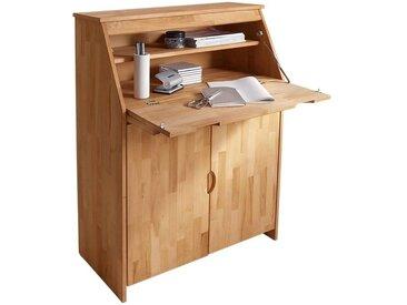 Sekretär »Luzern«, 83x112x25 cm (BxHxT), FSC®-zertifiziert, Yourhome, Material Massivholz