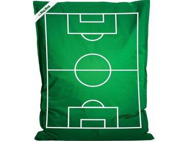 Sitz-Sack  »Little BigBag Soccer«, grün, Material Polystyrol / Polyester, Sitting Point