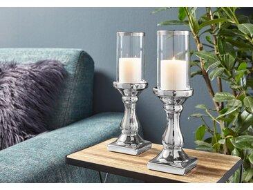 Wind-Licht   »Maseru«, silber, Material Keramik / Glas, BOLTZE
