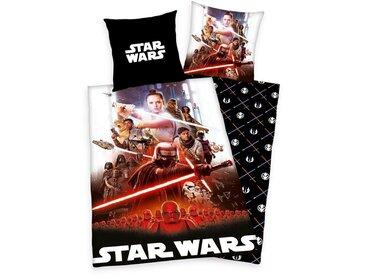 Wende-Bettwäsche  »Star Wars 9«, 1x 135x200 cm, schwarz, Material Baumwolle, STAR WARS, bedruckt