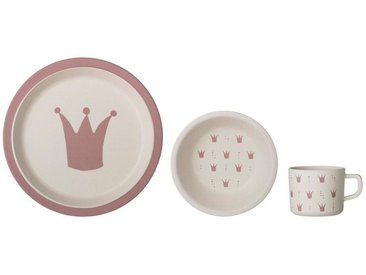 Bloomingville Kindergeschirr-Set , rosa, »Serie Princess«