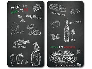 Abdeckplatte »Ristorante«, schwarz, KESPER for kitchen & home