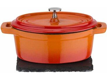 Serviertopf »orange Shadow«, orange, Material Gusseisen, GSW