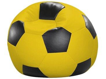 Home affaire  Sitz-Sack  »Fußball«, gelb, wasserabweisend