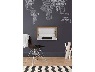Klapp-Tisch , FSC®-zertifiziert, weiß »Brenta«, Woodman