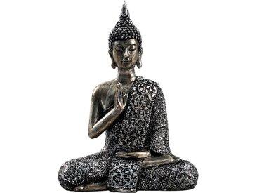 Buddha  »Paduma«, grau, Material Polyresin, Yourhome