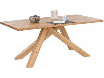 Home affaire  Ess-Tisch , Landhaus-Stil, beige »Bonsai«