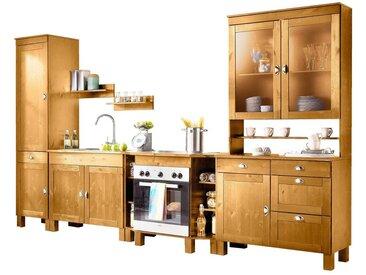 Home affaire  Küchen-Set  »Oslo«, FSC®-zertifiziert, beige, Material Metall / Kiefer