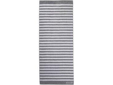 Sauna-Handtuch  , grau, Material Baumwolle »Stripes«, JOOP!, gestreift