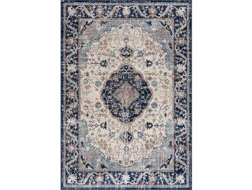 160x230 cm Vintage Teppich Tarix Blau M3922