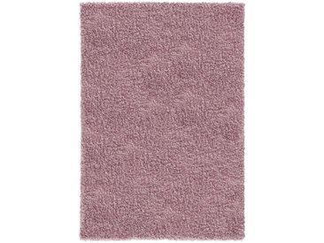 200x290 cm Kurzflor Shaggy Teppich Feel Good Rosa 30 mm MY1800