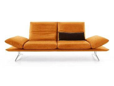 KOINOR Sofa 2,5-Sitzer FRANCIS 236 cm Lederbezug steppebeige