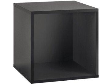Now! by hülsta Box TO GO Lack Schiefergrau ca. 38 x 38 x 39 cm