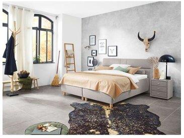 vito Polsterbett MILOU 180 x 200 cm Textil beige