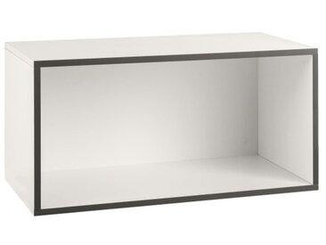 now! by hülsta Box TO GO Schneeweiß ca. 75 x 38 x 39 cm