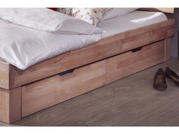 Bettkasten-Set MY DREAM 98 x 21 x 65 cm Wildeiche-Sonoma massiv