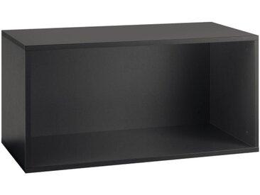 now! by hülsta Box TO GO Lack Schiefergrau ca. 75 x 38 x 39 cm