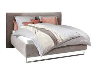 JOOP! Bett BEDSYSTEM 180 x 200 cm grau/ beige
