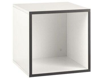 Now! by hülsta Box TO GO Schneeweiß ca. 38 x 38 x 39 cm