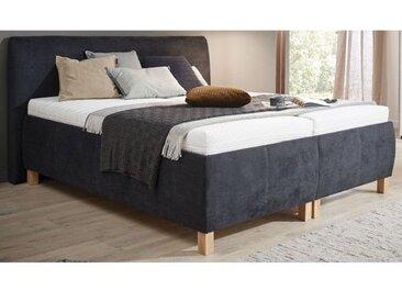 Ole Gunderson Polsterbett mit Bettkasten FENSON 180 x 200 cm schwarz