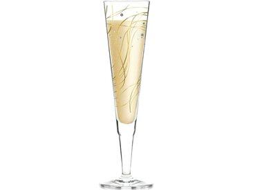 Ritzenhoff Champagnerglas 200 ml Kristallglas gold/platin
