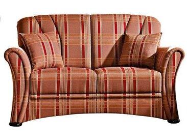 SCHRÖNO Sofa 2-Sitzer BERLIN Stoffbezug mehrfarbig