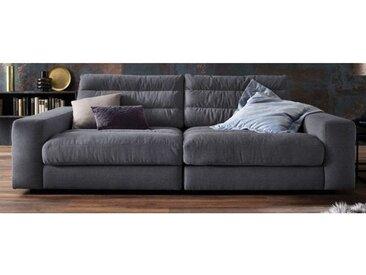 Ole Gunderson Megasofa 3-Sitzer 296 x 125 cm Stoffbezug schwarz