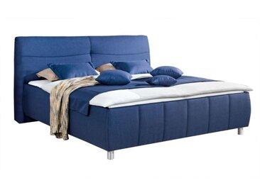 vito Polsterbett PALLAS 180 x 200 cm Stoffbezug blau