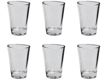LEONARDO 6er Set Schnapsglas / Stamper CIAO