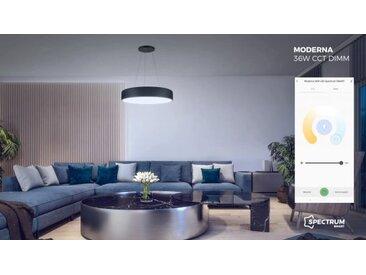 MODERNA, Pendelleuchte, LED 36W, CCT, Dimmbar, Google Assistant, Alexa, Tuya, Spectrum Smart App