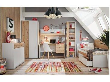 Stylefy Artemisia Kinderzimmer-Set Hellgrau Eiche