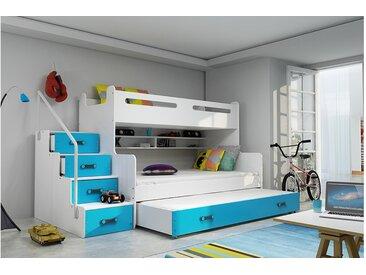 Stylefy Ole Etagenbett Blau