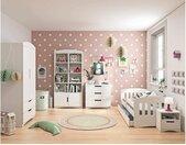 Amira Kinderzimmer-Set IV Weiß 80x160 cm