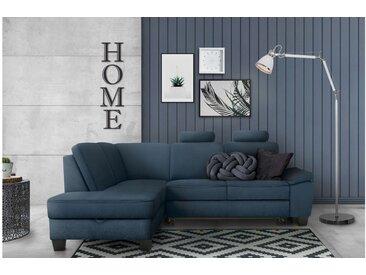 Stylefy Klarasi Ecksofa Struktur ARTEMIS Blau