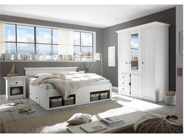 Stylefy Liliann Schlafzimmerset Weiß