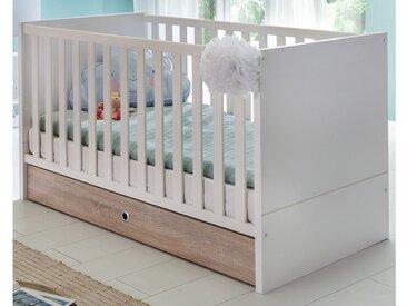 Stylefy Estelle Baby-Gitterbett Weiß