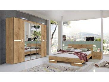 Stylefy Louise Schlafzimmerset Plankeneiche