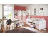 Emilie IV Kinderzimmer-Set Weiß Pastellrosa