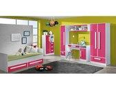 Goldie Kinderzimmer-Set II Weiß Rosa