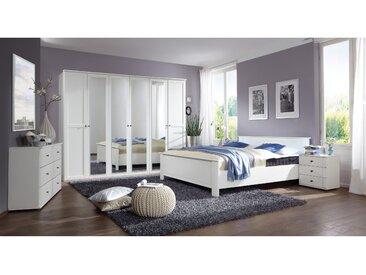 Stylefy Teresa Schlafzimmerset Weiß