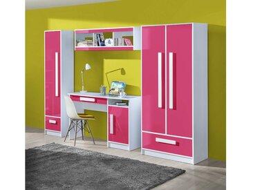 Stylefy Goldie Kinderzimmer-Set I Weiß Rosa