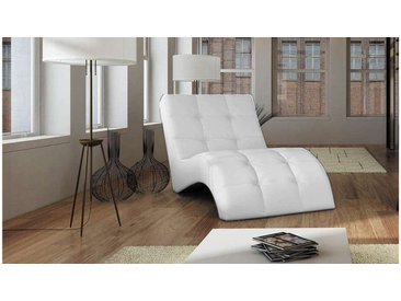 Stylefy LAGUNA Liege 76x170x83 cm Weiß