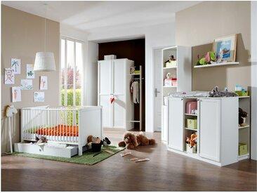 Stylefy Raoul Kinderzimmer-Set Weiß