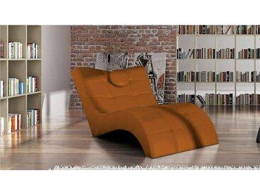 Stylefy LONDON Liege 84/76x170x92 cm Orange