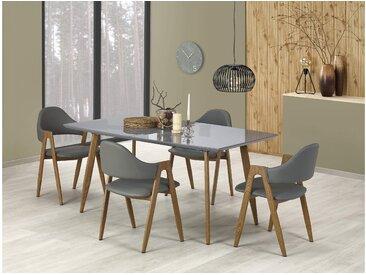 Stylefy Ruten Essgruppe Grau | Honig Eiche